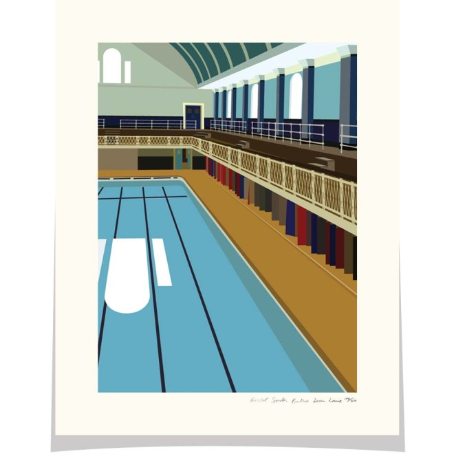 Bristol South Swimming Pool Dean Lane Bristol
