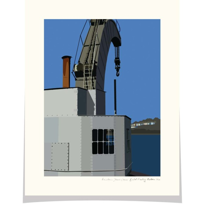 Fairbairn Steam Crane Princes Wharf Bristol Floating Harbour Bristol