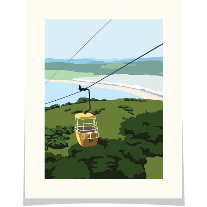 Great Orme cable car Llandudno Wales