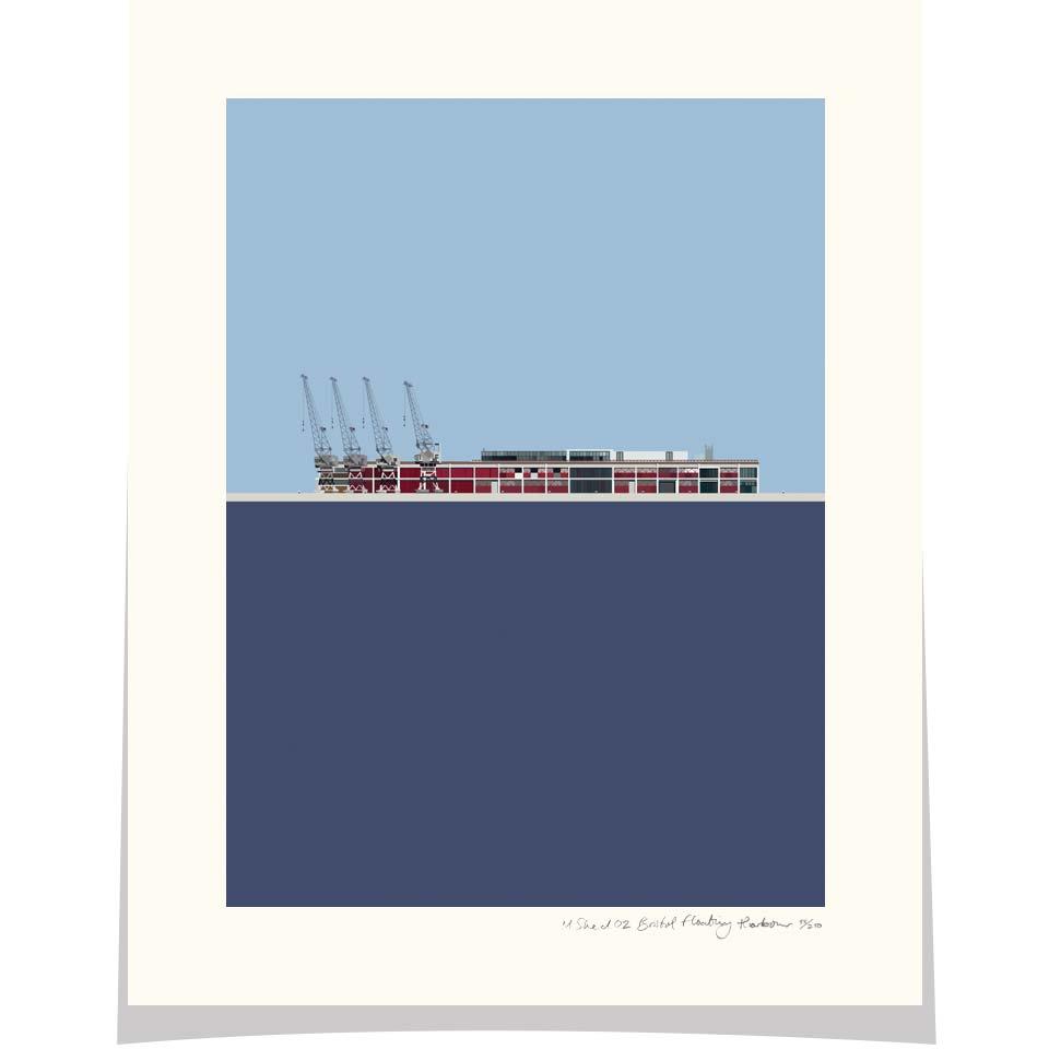 M Shed No.2 Princes Wharf Bristol Floating Harbour