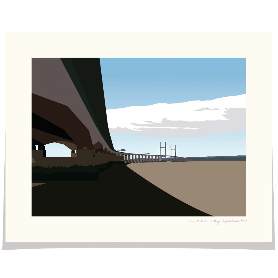 The Second Severn Crossing England Wales