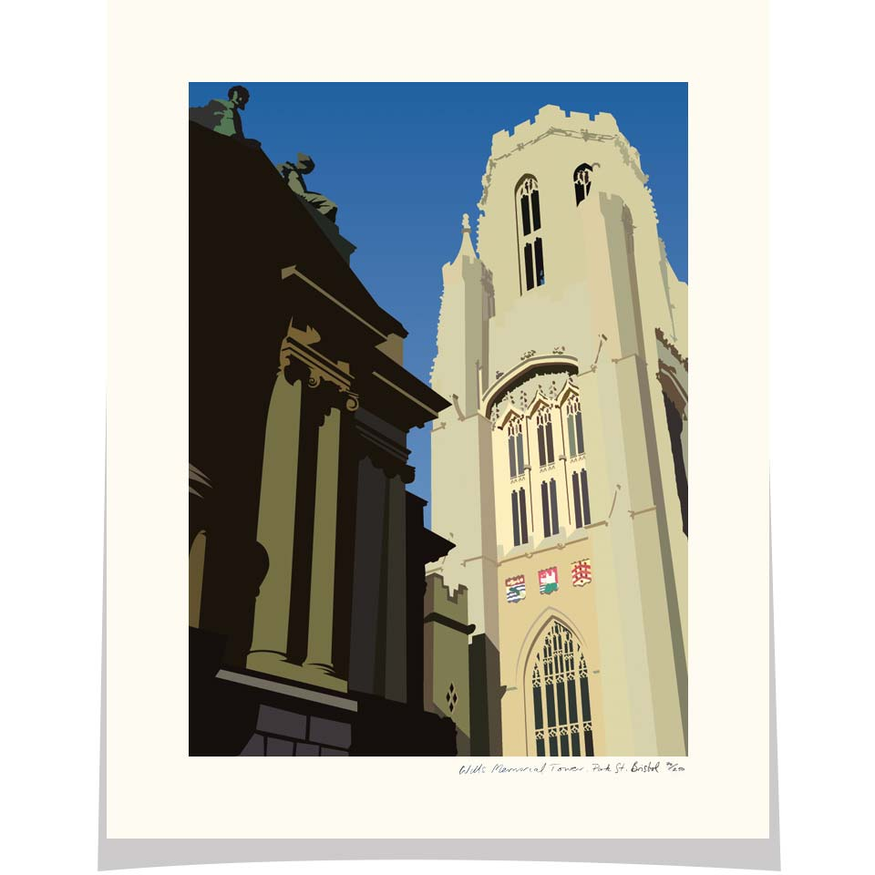 Wills Memorial Building - Park Street, Bristol